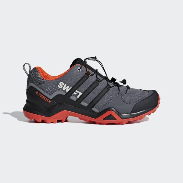 ae7602ab750f7 Terrex Swift R2 Shoes Grey Five   Core Black   Active Orange G28408