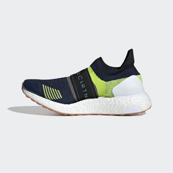 5a011b0b8a9 Ultraboost X 3D Shoes Night Indigo   Vivid Green   Granite BC0313