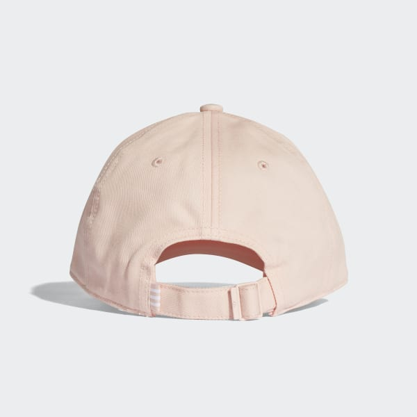 e4cf19c090a Trefoil Classic Cap Blush Pink   White CV8143