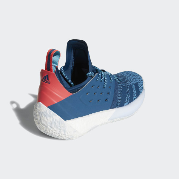 9d8fc8107da Harden Vol. 2 Shoes Blue Night Bright Cyan Shock Red AH2216