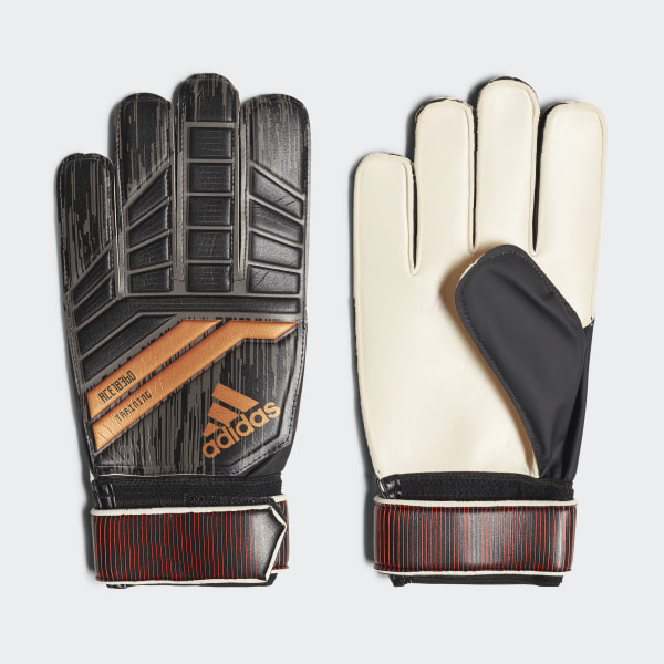 Predator 18 Training Goalkeeper Gloves Black Solar Red Copper Gold CF1364 5fae2a7d2c
