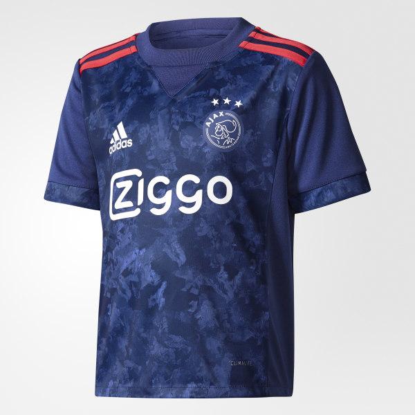 Mini kit Ajax Amsterdam Extérieur Dark Blue Bold Red AZ7879 b2c571649de