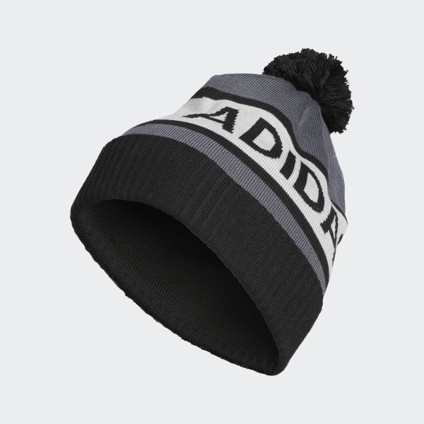 adidas Pom Beanie - Black  373eb2d9219