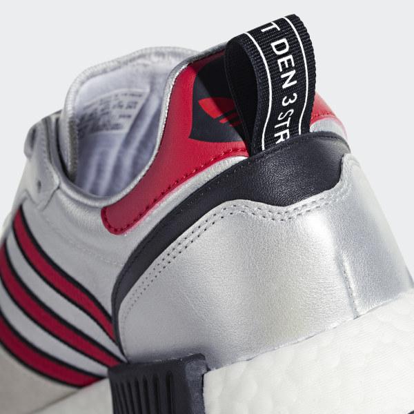 ba40e58d6d191 Rising Star x R1 Shoes Silver Met.   Collegiate Red   Ftwr White G26777