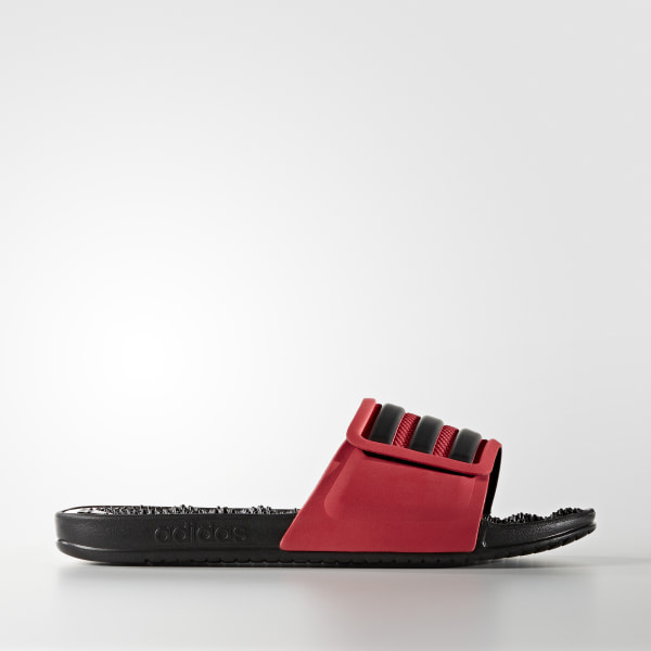 adissage 2.0 3-Stripes Slides Ray Red   Core Black   Core Black BB4110 7567e519b