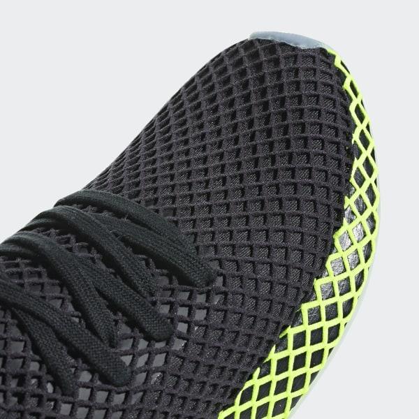 sports shoes 56b81 6f0a4 Deerupt Runner Shoes Core Black  Core Black  Ash Blue B41755