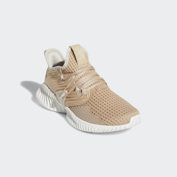 4bcfcd0d0 Alphabounce Instinct Clima Shoes Pale Nude   Clear Brown   Running White  D97289