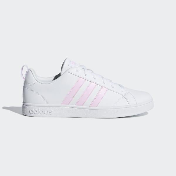 d757e057c47 Sapatos VS Advantage Ftwr White   Aero Pink   Light Granite F34439
