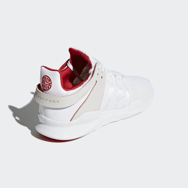 the latest 245a5 cd46d EQT Support ADV CNY Shoes Ftwr WhiteFtwr WhiteScarlet DB2541