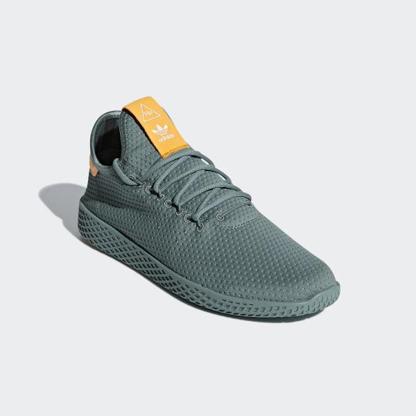 9adc75f6ecc Pharrell Williams Tennis Hu Shoes Raw Green   Raw Green   Off White B41808
