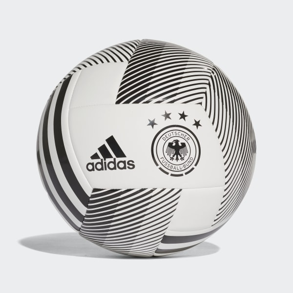 Balón Germany Glider 2018 WHITE BLACK CD8502 a04401edc51ea