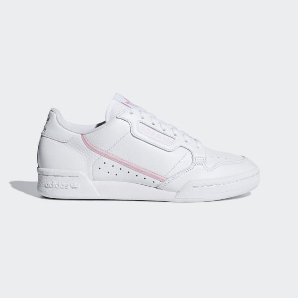 separation shoes ba78f 06eee Continental 80 sko Ftwr White  True Pink  Clear Pink G27722