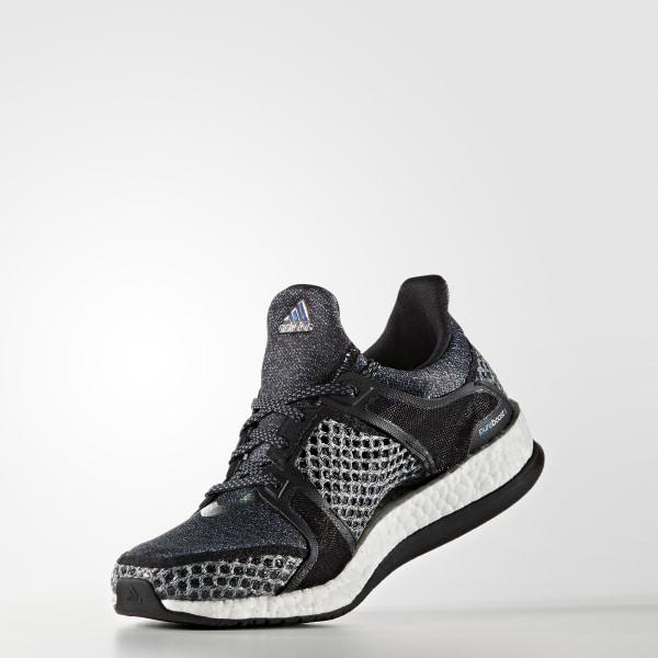 huge selection of ecd53 3b32f Pure Boost X Training Shoes Core BlackCore BlackVapor Blue AQ4596