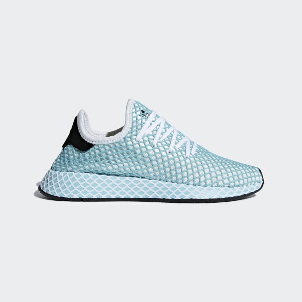 d1c5c87fc1d7e Deerupt Runner Parley Shoes Blue   Ftwr White   Blue Spirit CQ2908