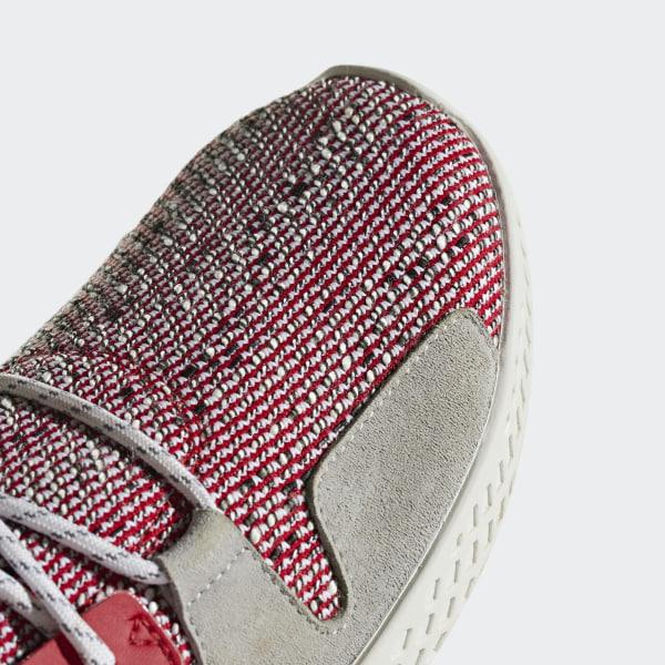 58f182ee5 Pharrell Williams SOLARHU Tennis V2 Shoes Scarlet   Cloud White   Core  Black BB9542