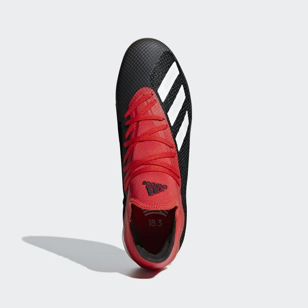 Scarpe da calcio X Tango 18.3 Indoor Core Black   Off White   Active Red  BB9391 cb3d21c13b6