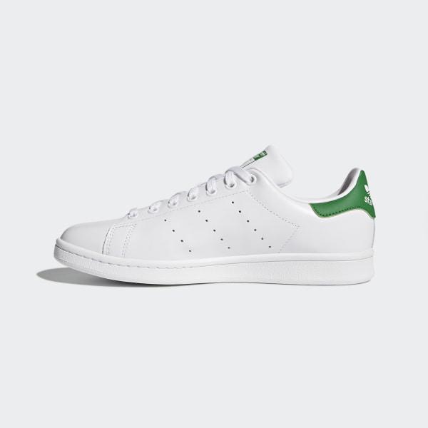 Stan Smith Shoes Cloud White   Core White   Green M20324 d8badf694