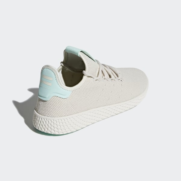 8de4098be Pharrell Williams Tennis Hu Shoes Talc   Talc   Chalk White B41885