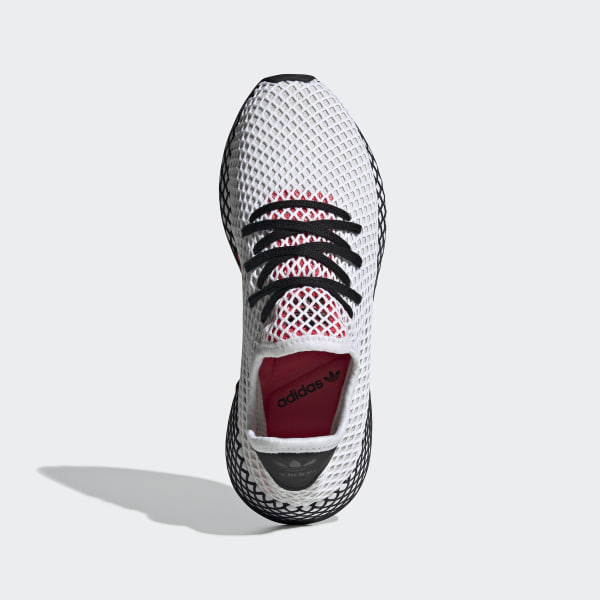 brand new 54bb1 180f6 Deerupt Runner Shoes Cloud White  Core Black  Shock Red DB2686