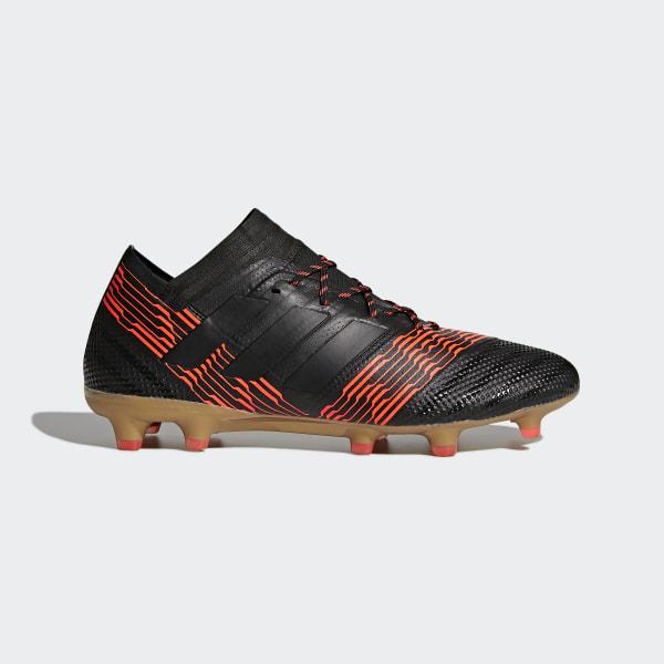 8ddeefbe6286 Zapatos de Fútbol Nemeziz 17.1 Terreno Firme CORE BLACK CORE BLACK SOLAR  RED CP8932
