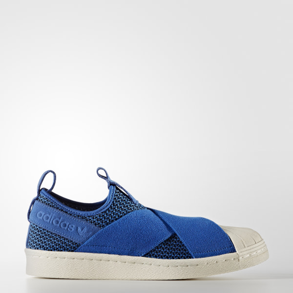 Tenis Superstar Slip-On BLUE BLUE OFF WHITE BB2120 1a537094b8dd6