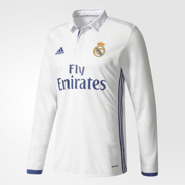 fb7bd7f484eff Real Madrid Home Jersey Crystal White   Raw Purple AI5184