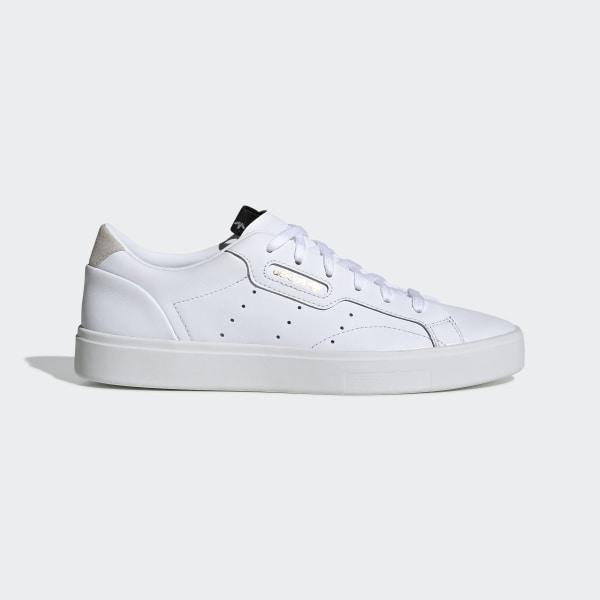 0596128e69f Tenis adidas SLEEK W Ftwr White   Ftwr White   Crystal White DB3258