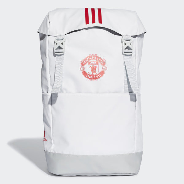 b02d14d09b Manchester United Backpack Clear Grey   Clear Onix   Blaze Red DQ1525