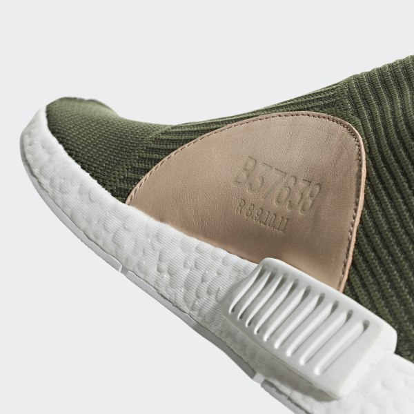 14ea612f6 NMD CS1 Primeknit Shoes Night Cargo   Base Green   Cloud White B37638