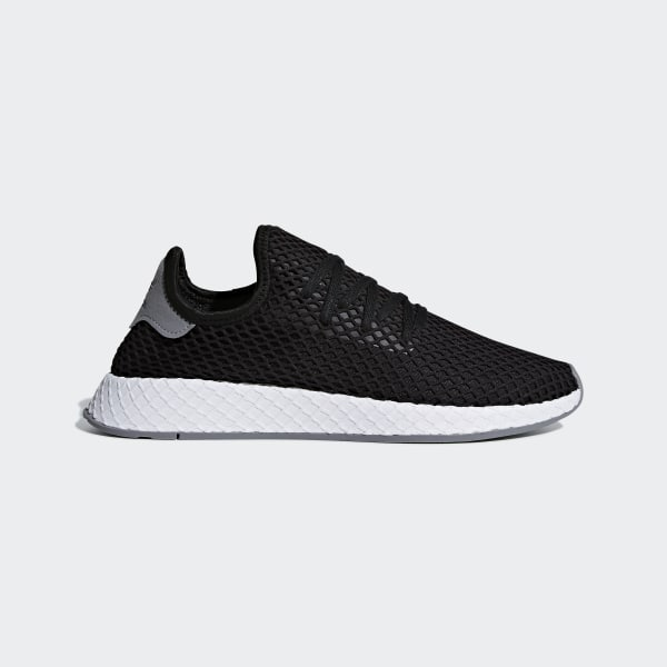 e2adeac7d Deerupt Runner Shoes Core Black   Core Black   Solar Red B41765