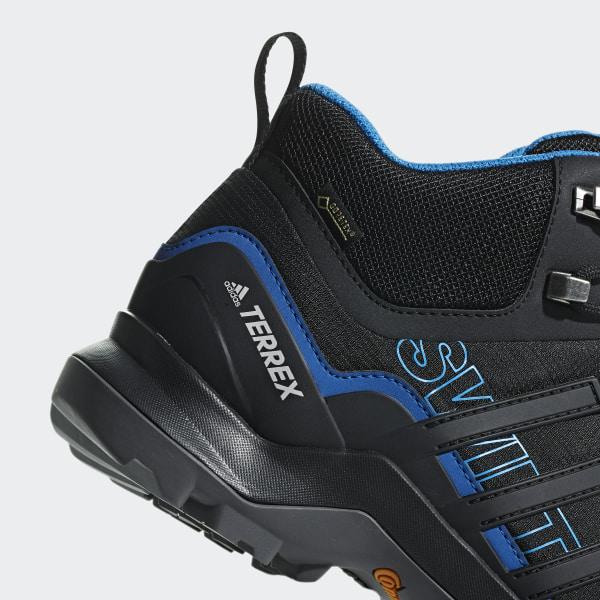 new style fbf6c 065f8 Scarpe Terrex Swift R2 Mid GTX Core Black   Core Black   Bright Blue AC7771
