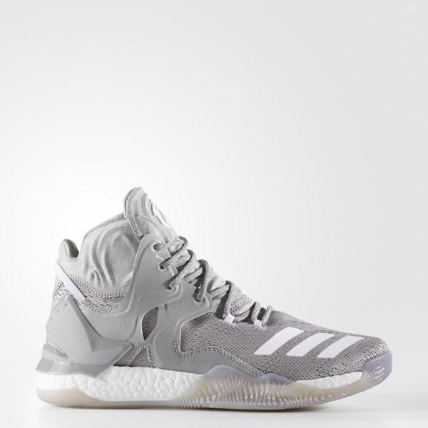 sports shoes df68c 0c3d8 D Rose 7 MEDIUM GREY HEATHER WHITEMGH SOLID GREY B54134