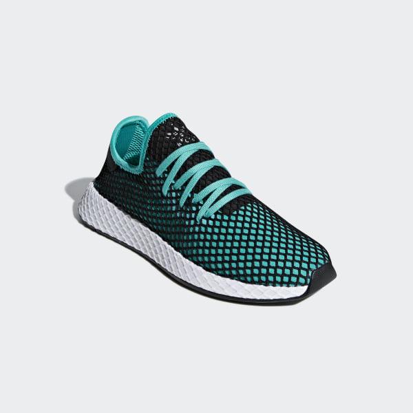 64e93bbc6 Deerupt Runner Shoes Hi-Res Aqua   Hi-Res Aqua   Core Black B41775