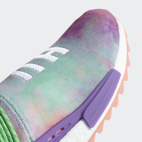 7fbcf5e4b4d Pharrell Williams Hu Holi NMD MC Shoes Chalk Coral   Black   Black AC7034