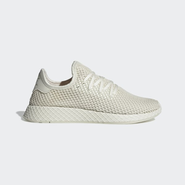 a71df5dd44161 Deerupt Runner Shoes Off White   Cloud White   Shock Red BD7882