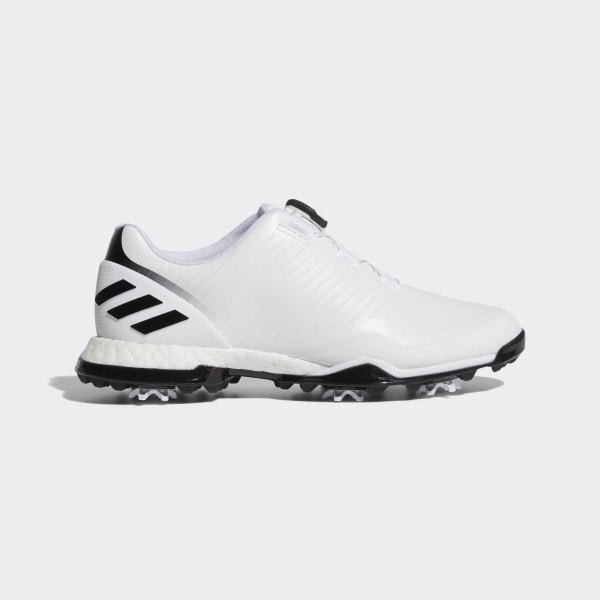free shipping 119fd 80fa0 Adipower 4orged Boa Shoes Ftwr White  Core Black  Silver Met. BB7841