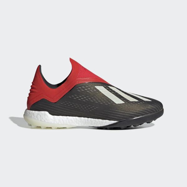 the best attitude 0d909 b0801 Zapatos de Fútbol X 18+ TF Core Black   Ftwr White   Active Red BB9388