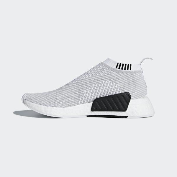 83845cf92 NMD CS2 Primeknit Shoes Ftwr White   Grey Two   Core Black D96743