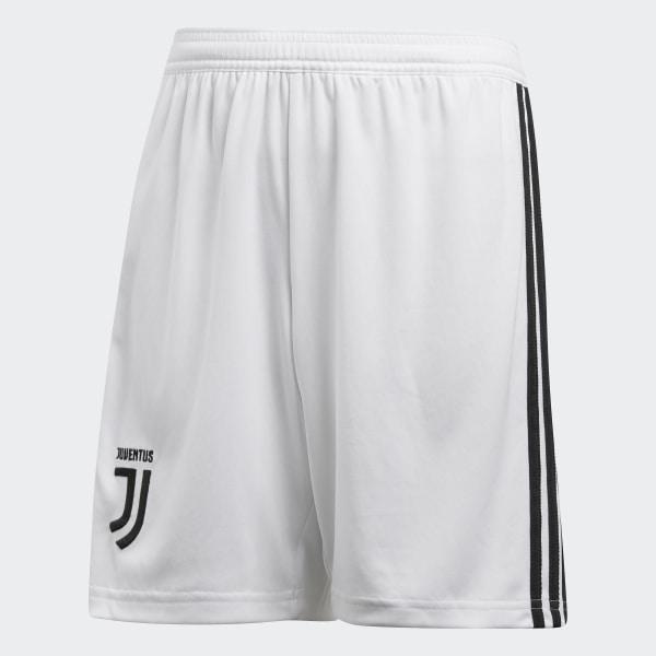 white adidas soccer shorts