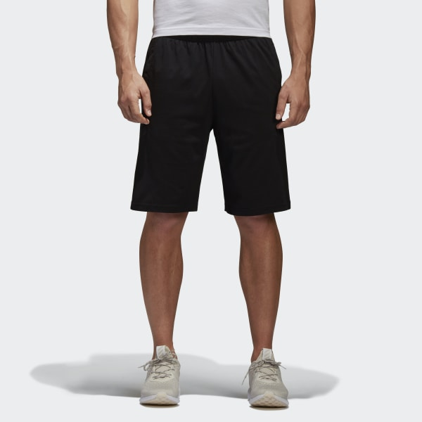 Essentials Linear Shorts Black White BS5026 478b81679