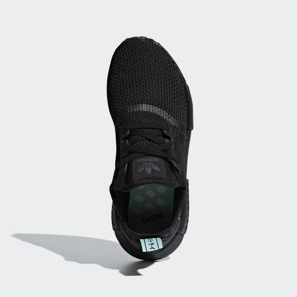 e12354ffe NMD R1 Shoes Core Black   Core Black   Clear Mint AQ1102