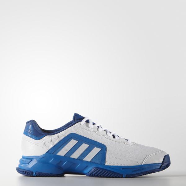 new concept 9d2d6 5e4d4 barricade court 2 WHITE SHOCK BLUE AF6783
