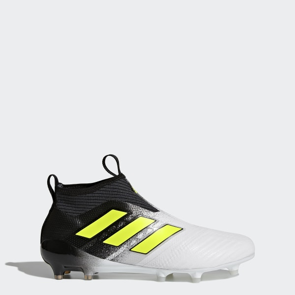 designer fashion cf351 a942b Calzado de Fútbol ACE 17+ Purecontrol Terreno Firme FTWR WHITE SOLAR  YELLOW CORE