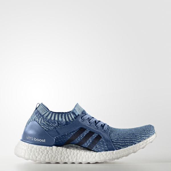 3f6b880318cd5 Ultraboost X Parley Shoes Core Blue   Core Blue   Blue BB1978