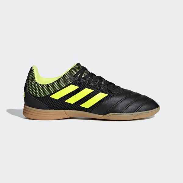 03f679c62 Copa 19.3 Indoor Sala Boots Core Black   Solar Yellow   Solar Yellow D96583
