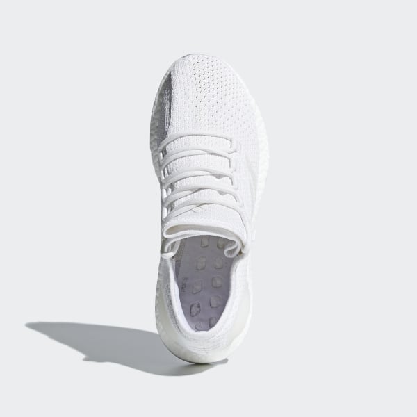6be6ef1a2e4 Pureboost Clima Shoes Cloud White   Grey One   Crystal White BY8897