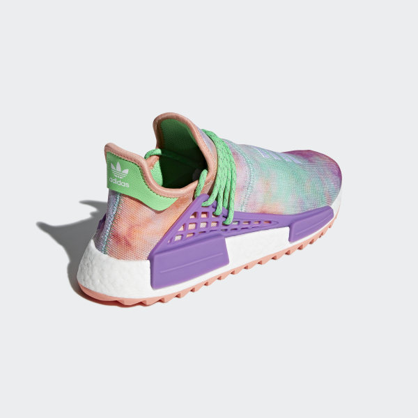1537bbd3abbc Pharrell Williams Hu Holi NMD MC Shoes Chalk Coral   Black   Black AC7034