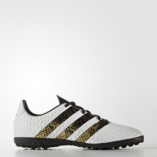 watch 96889 55514 Zapatos de fútbol para césped artificial ACE 16.4 FTWR WHITE   CORE BLACK    GOLD MET