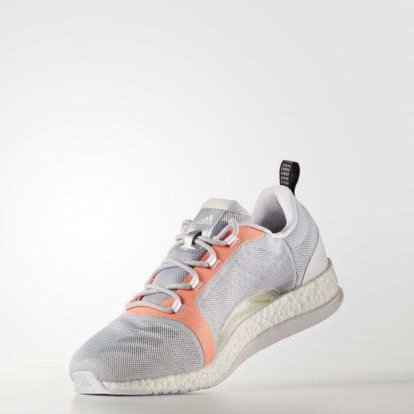 03b742177 Pure Boost X Trainer 2.0 Shoes Light Solid Grey   Core Black   Easy Orange  BA7958