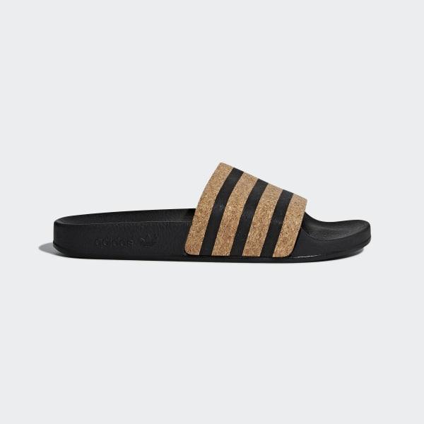 new products 17835 f8512 adidas Adilette Slides - Black  adidas Canada